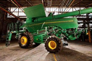 We detailed two combine harvesters at Lonsdale