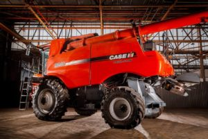 We detailed two combine harvesters at Seed Terminator, Lonsdale